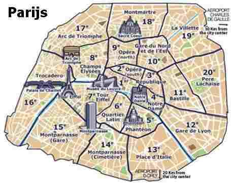 Champs Elysees Parijs