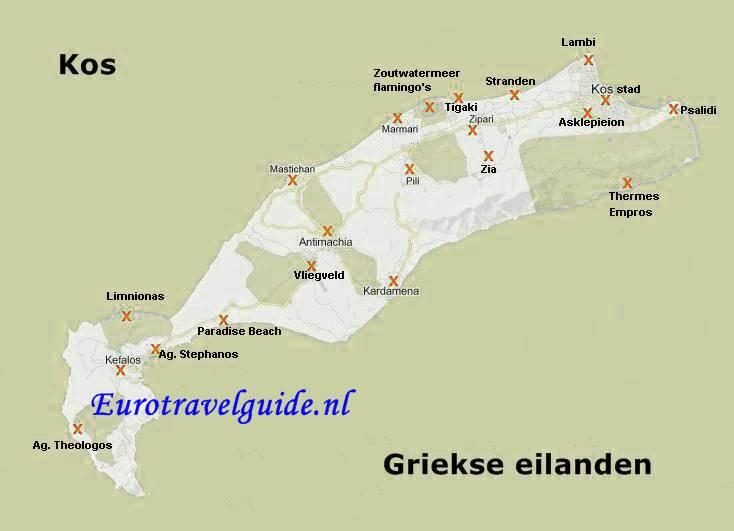 Vakantie eiland Kos